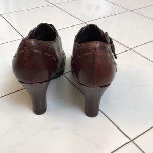 Aero soles 7M Wine Shoes